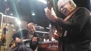 with John Pisano NAMM 2014